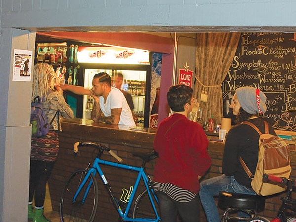No mixology here—plenty of bike space, though - ORLANDO CANTU