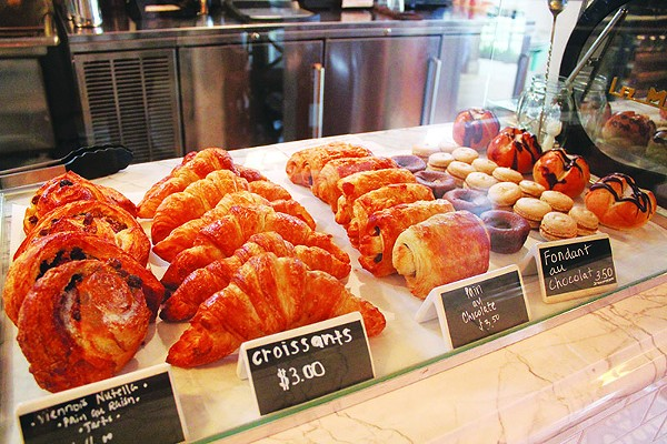 No need to flock to Paris for delicious croissants. Instead, try CommonWealth bakery. - MELANIE ROBINSON