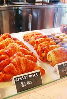 No need to flock to Paris for delicious croissants. Instead, try CommonWealth bakery.