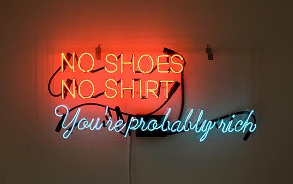 No Shoes, No Shirt, You're Probably Rich (2010) - ALEJANDRO DIAZ