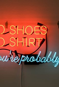 No Shoes, No Shirt, You're Probably Rich (2010)