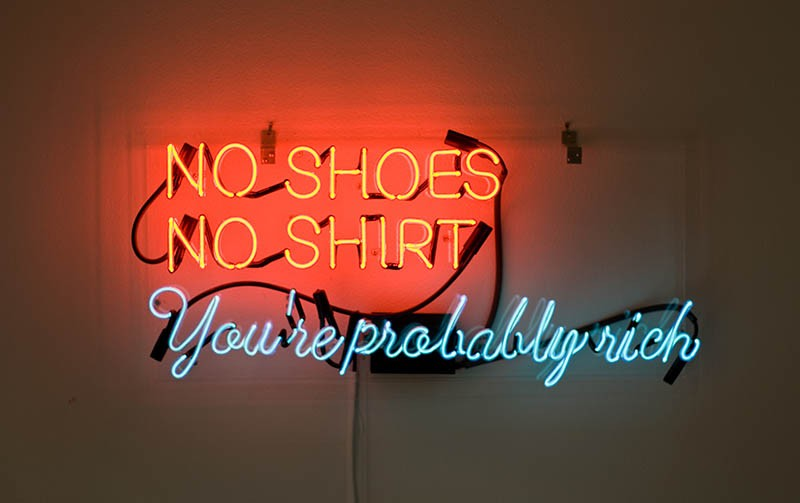 No Shoes, No Shirt, You're Probably Rich (2010) - ALEJANDRO DIAZ