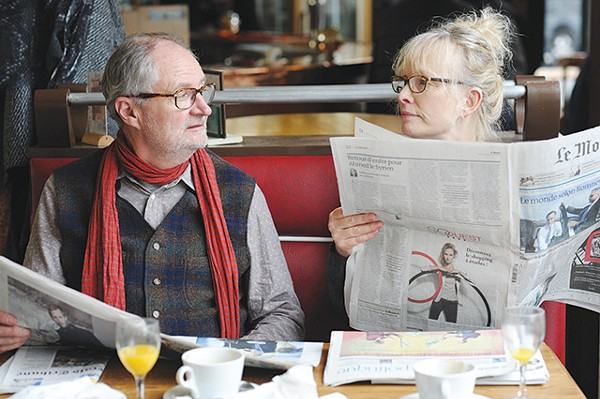 """Oh, piss off!"" seems to be the gist of Nick (Jim Broadbent) and Meg's (Lindsay Duncan) conversations in Le Week-End - COURTESY PHOTO"