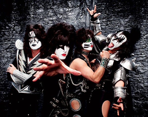 Old age rage: Kiss is still rocking after all these years. - COURTESY PHOTO
