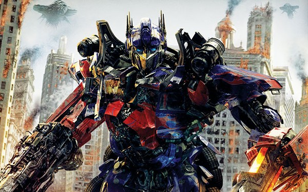 Optimus Prime has landed, hopefully for the last time. - COURTESY PHOTO
