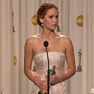 Oscar winner Jennifer Lawrence shoots straight