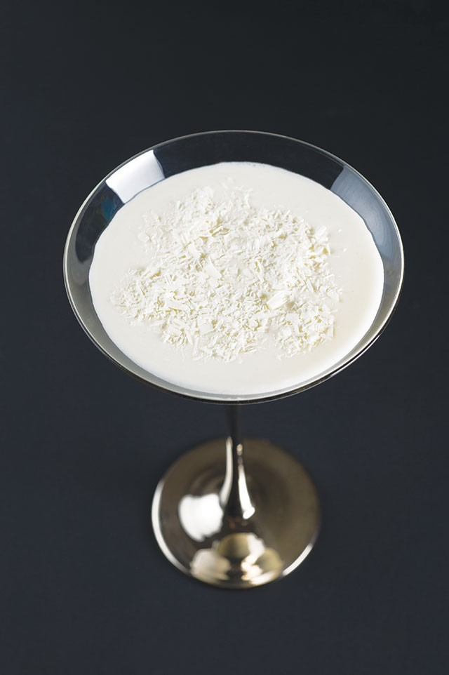 Our Olympic drink of choice: Cinco's Snow Drift - COURTESY PHOTO
