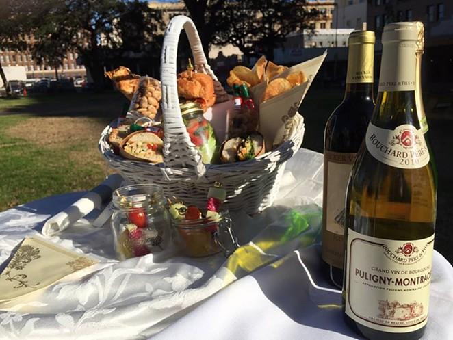 Reserve your picnic basket for Travis Park's Dinner En Blanc celebration - TRAVIS PARK/FACEBOOK
