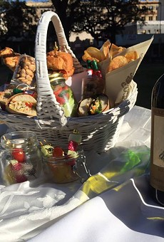 Reserve your picnic basket for Travis Park's Dinner En Blanc celebration