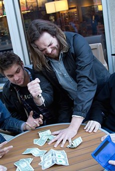 Nashville's Diarrhea Planet playing a high-stakes game of Five Finger Fillet