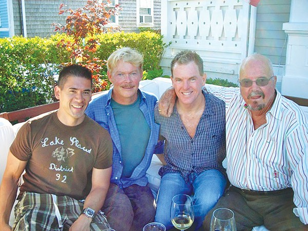 Patrick Kurata, Jim Smith, Bill Sibley, and Walter Starcke in 2009 - WILLIAM JACK SIBLEY