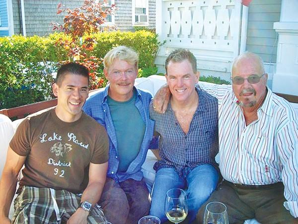 Patrick Kurata, Jim Smith, Bill Sibley, and Walter Starcke in 2009 - WILLIAM JACK SIBLEY
