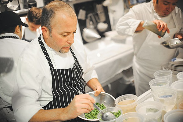 Peas and patience: Wiley focuses on execution and earthy flavors - COURTESY PHOTO