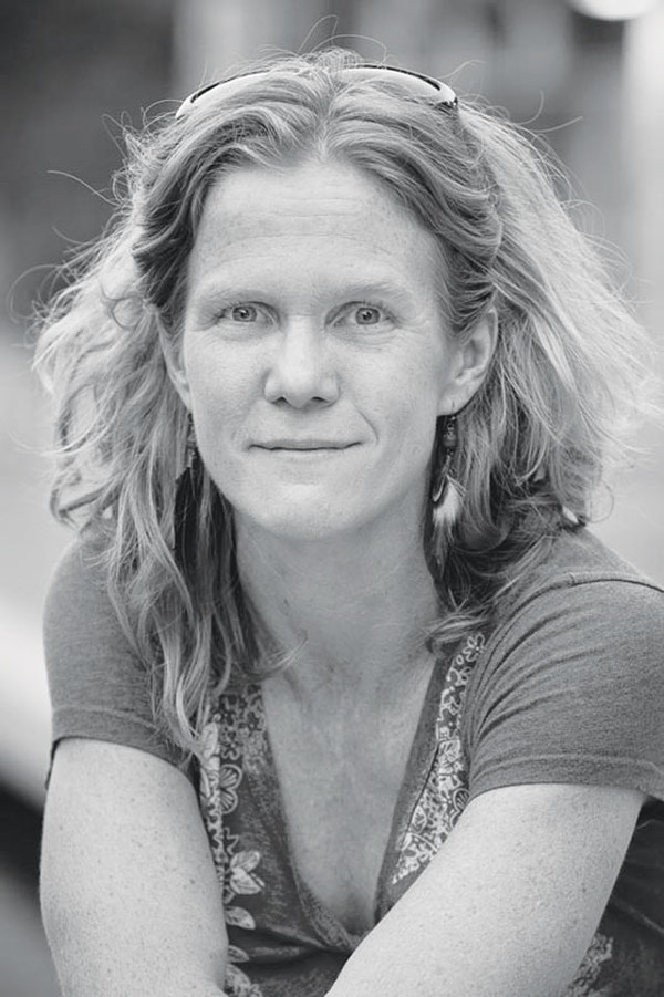 Poet and educator Jenny Browne - COURTESY PHOTO