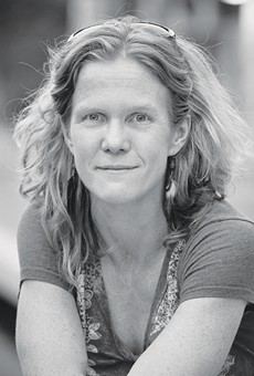 Poet and educator Jenny Browne