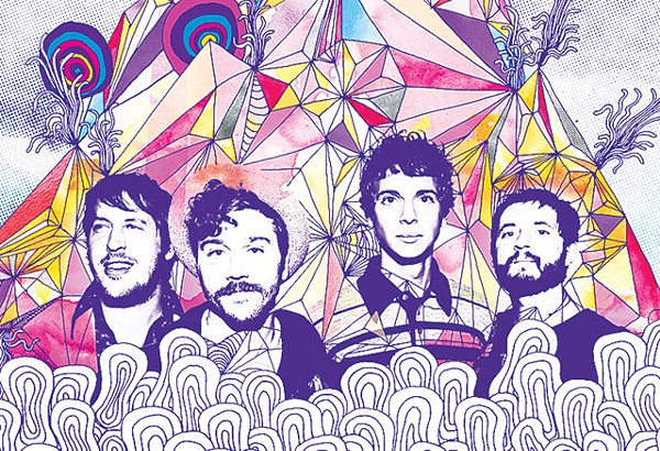 Portugal. The Man ready for San Anto. This time, no guns allowed. - COURTESY PHOTO