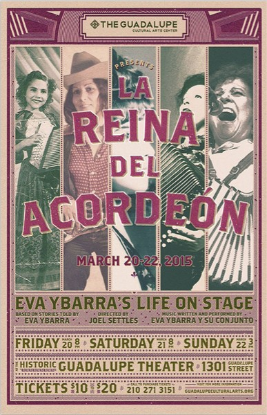 Poster for La Reina Del Acordeón - COURTESY