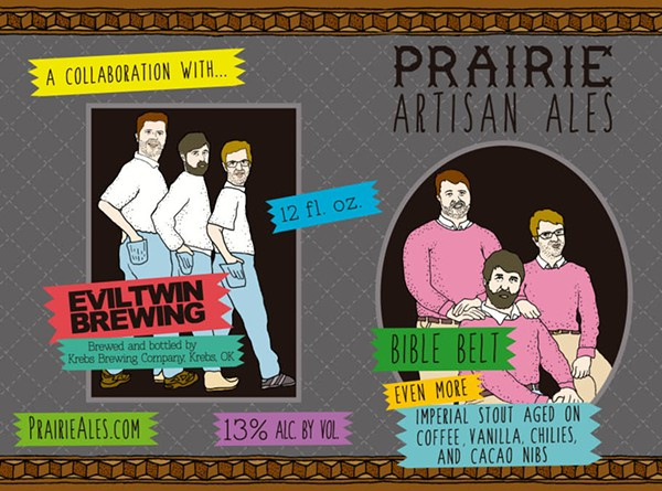 Prairie Artisan Ales/Evil Twin Bible Belt - COURTESY