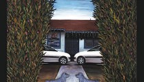 Pranking perspective: Fernandez' larger paintings approach Magritte's doorstep