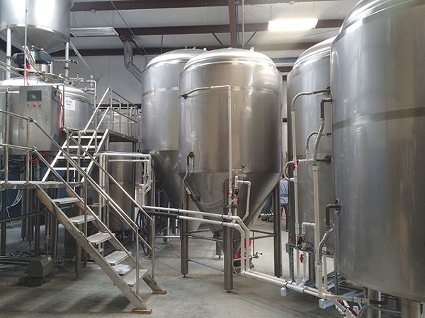 Production at Boerne Brewing kicked off in 2013 - COURTESY PHOTO