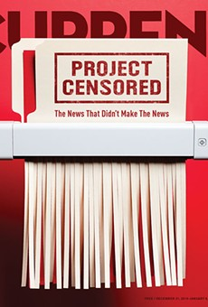 Project Censored: The important stories the mainstream media ignored in 2014