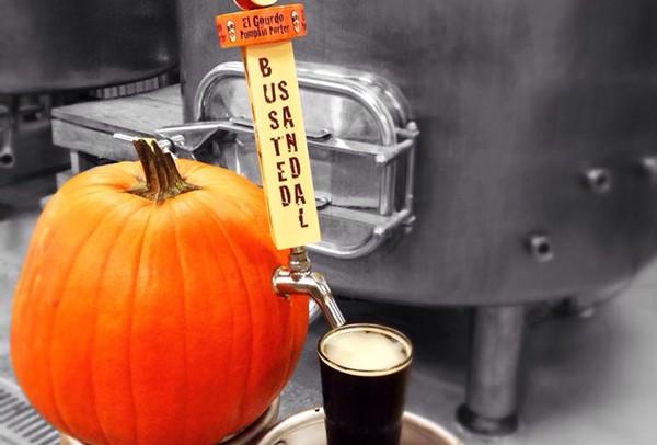 Pumpkin brew time. - COURTESY