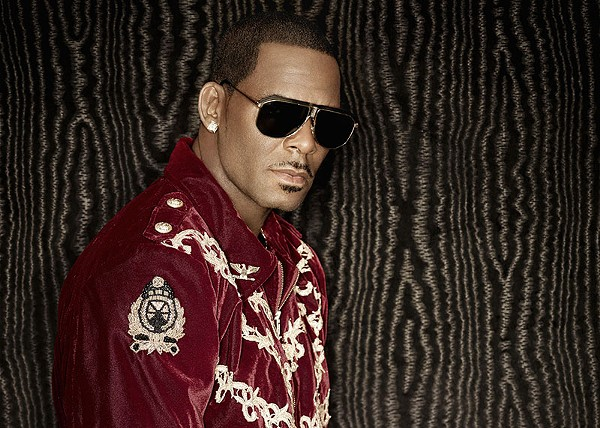 R. Kelly brings the slow jams to the Alamodome this Valentine's Day. - COURTESY