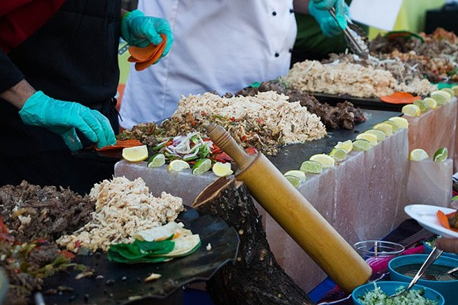 Rain be damned. Culinaria's Best of Mexico will go on as planned. - FILE PHOTO