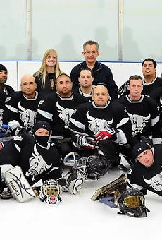 Rampage Sled Hockey Team Wins Everything This Year