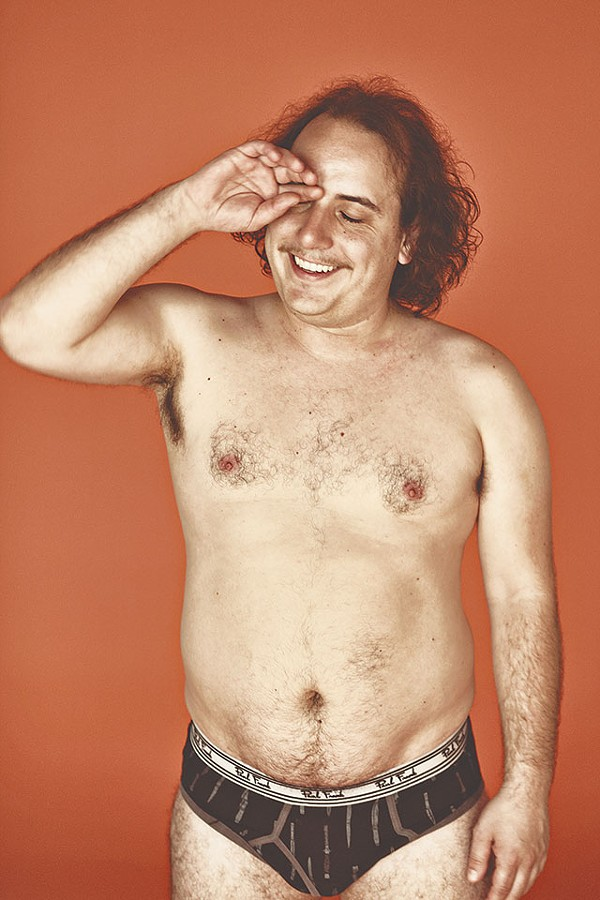 Real men have curves — Har Mar Superstar's typical look at the end of his shows - COURTESY PHOTO