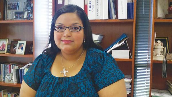 Recent education grad Kristina Martinez - SCOTT ANDREWS
