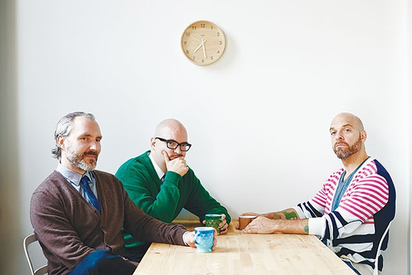 Reid Anderson, Ethan Iverson and Dave King of The Bad Plus - COURTESY PHOTO