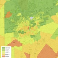 Revealing San Antonio Internet Use Map Reinforces Digital Divide
