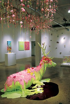 Reviews: 'Dirty Dozen' at Blue Star Contemporary Museum,  'Hieroglyphs' at Linda Pace Foundation