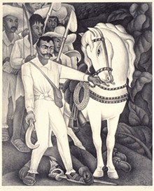 Revolutionary, sure. But Mexico's Emiliano Zapata isn't a hero to all. - DIEGO RIVERA, ZAPATA (DETAIL), 1932