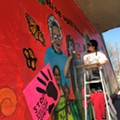Rise Up! There's a New Mural Under Westfall Bridge