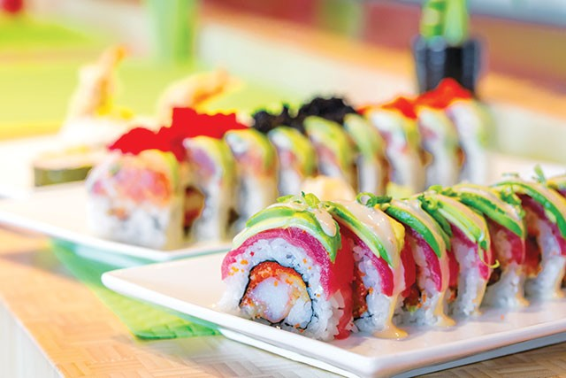 Roll over to Sushi Seven if Sushi Zushi's fusion dishes are your jam - CASEY HOWELL