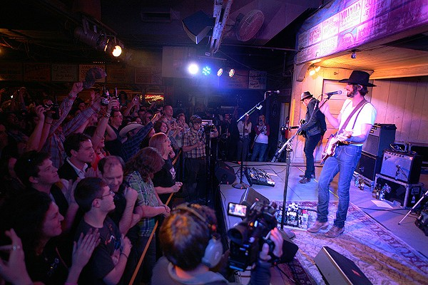 Ryan Bingham has had his turn on the nondescript but famous Gruene Hall stage. - KEVIN GIEL