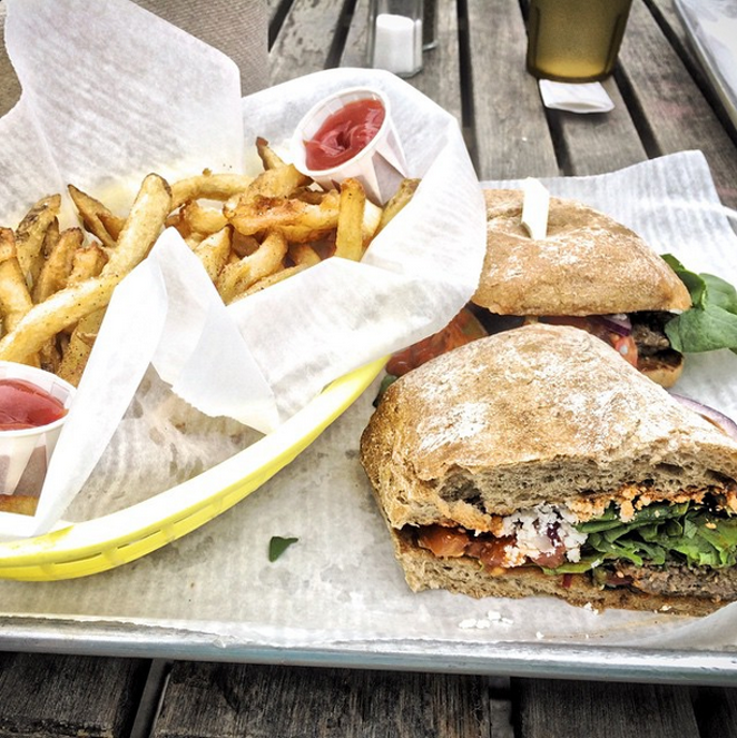 We need to get our hands on this lamb burger - FLO31/INSTAGRAM