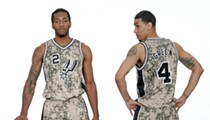 SA Spurs Unveil New Military-inspired Uniform