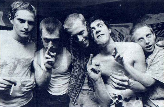 The Butthole Surfers - COURTESY