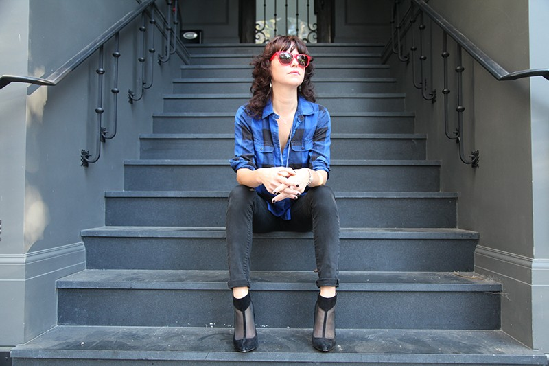Sarah Bethe Nelson plays the side stage on Sunday at 4:30 p.m. - COURTESY