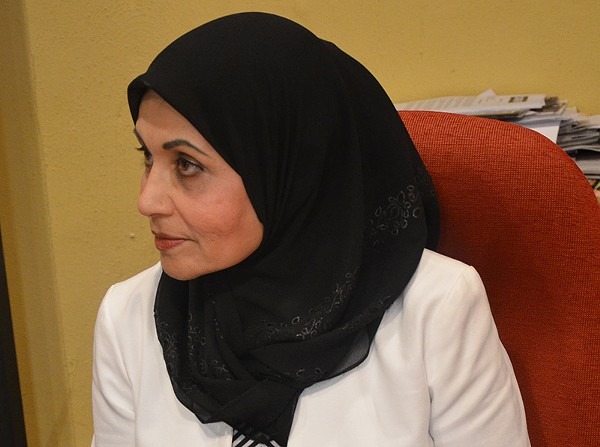 Sarwat Husain, founding president of the San Antonio chapter of the Council on American-Islamic Relations - BRYAN RINDFUSS