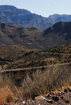 Say Hello to the Chinati Mountains State Natural Area