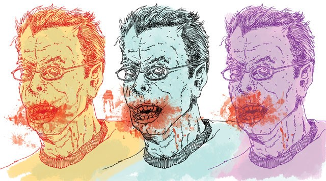 Scared of Bambi: master of horror Stephen King explains the difference between horror and terror. - ILLUSTRATION BY CHUCK KERR
