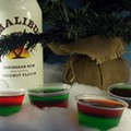 Shot of the Week: Green and Red Holiday Jell-O Shots