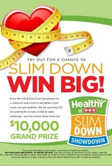 'Slim Down' with H-E-B challenge (last day to enter!)