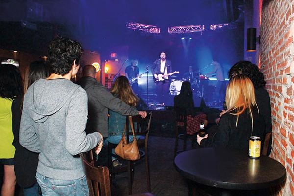Sounds Under Radio performing Friday night at 502 Bar's Rock Your Socks Off fest. - AMANDA MILLER