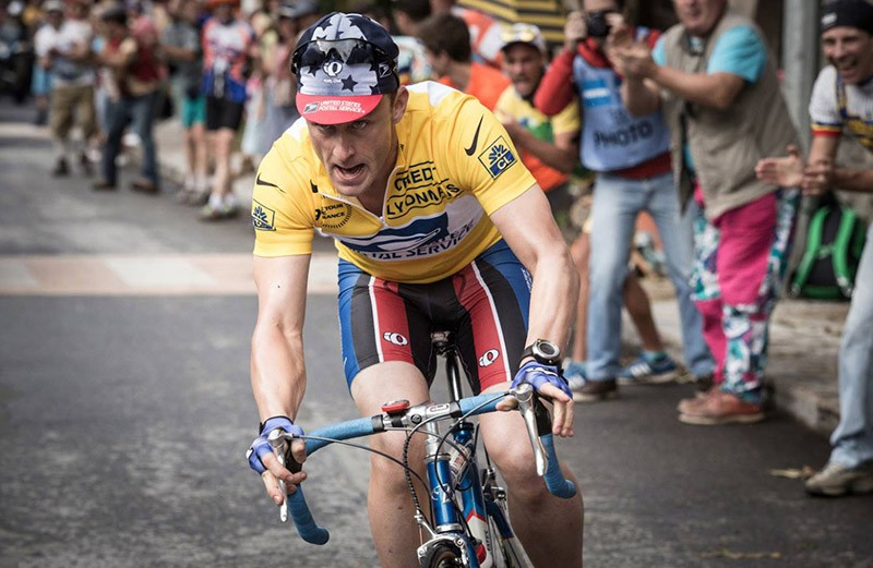 Stephen Frear's upcoming biopic Icon stars Ben Foster as disgraced cyclist Lance Armstrong - COURTESY