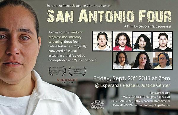 Sundance Grant Winning Documentary San Antonio Four
